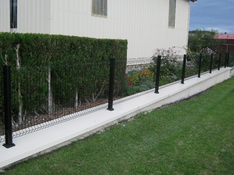 Clôture jardin à Plaintel (22)   ASM Fermetures