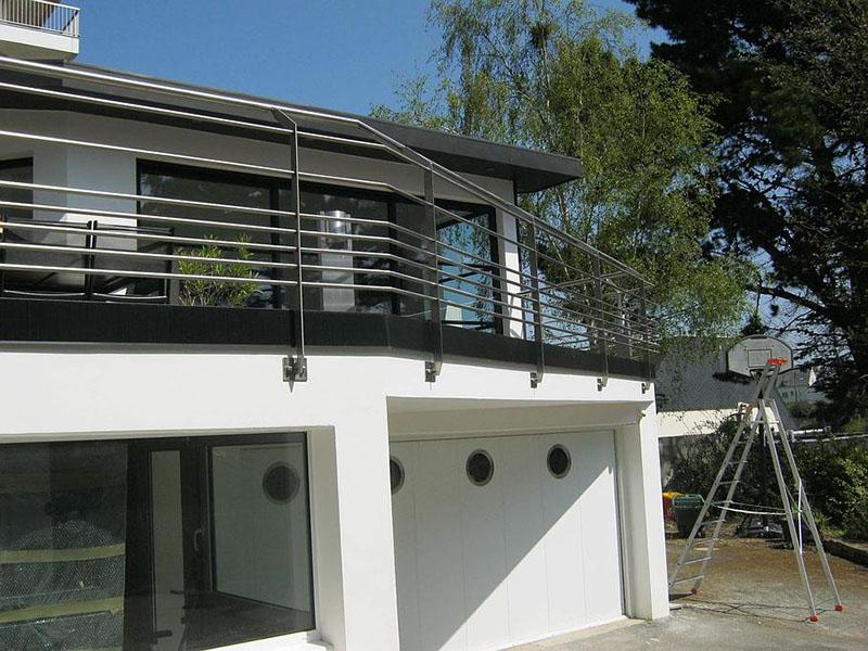 grille de défense terrasse à Plaintel (22) | ASM Fermetures