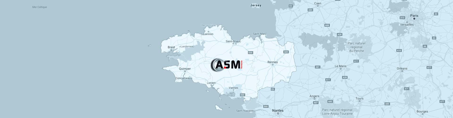 ASM Fermetures, expert en métallerie à Plaintel (22), en Bretagne