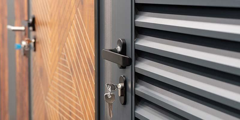 porte métallique à Plaintel (22) | ASM Fermetures